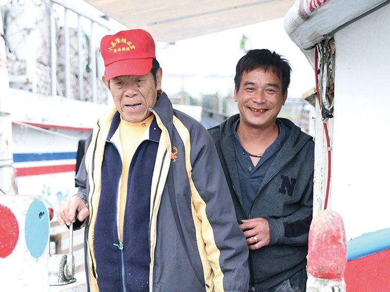 老船長的海海人生 / 許八郎 、許添財