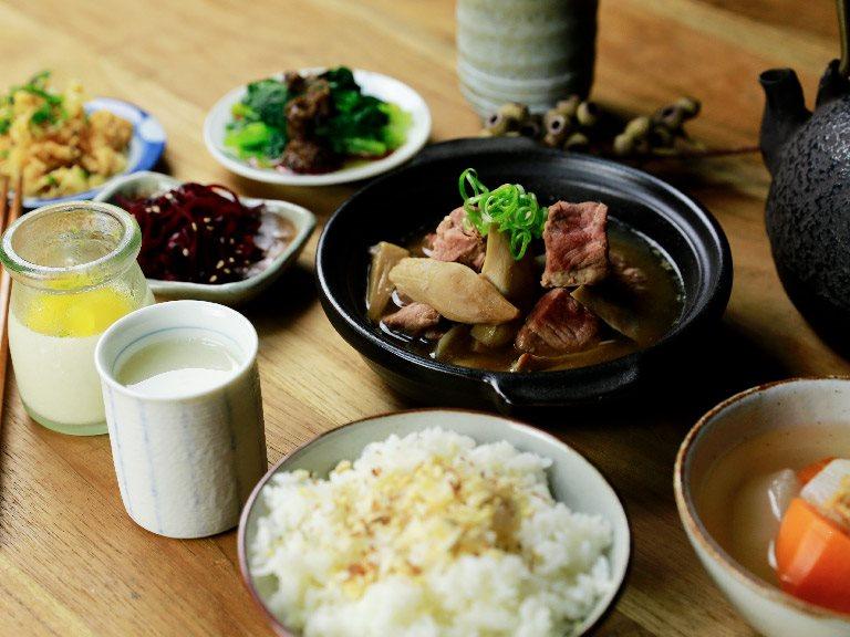 自家味噌野菇燉肉