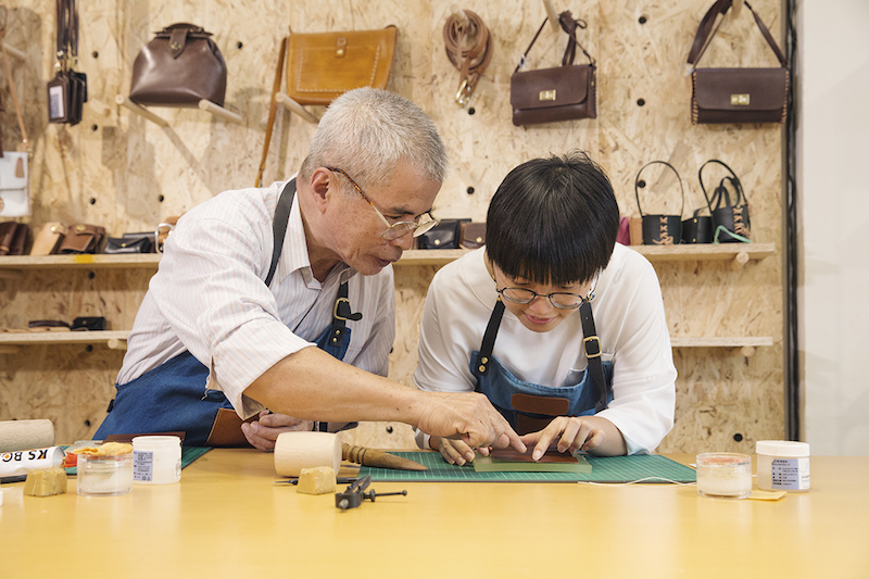 Leather Creation DIY Experience | Taipei Cultural experience | CAN Culture