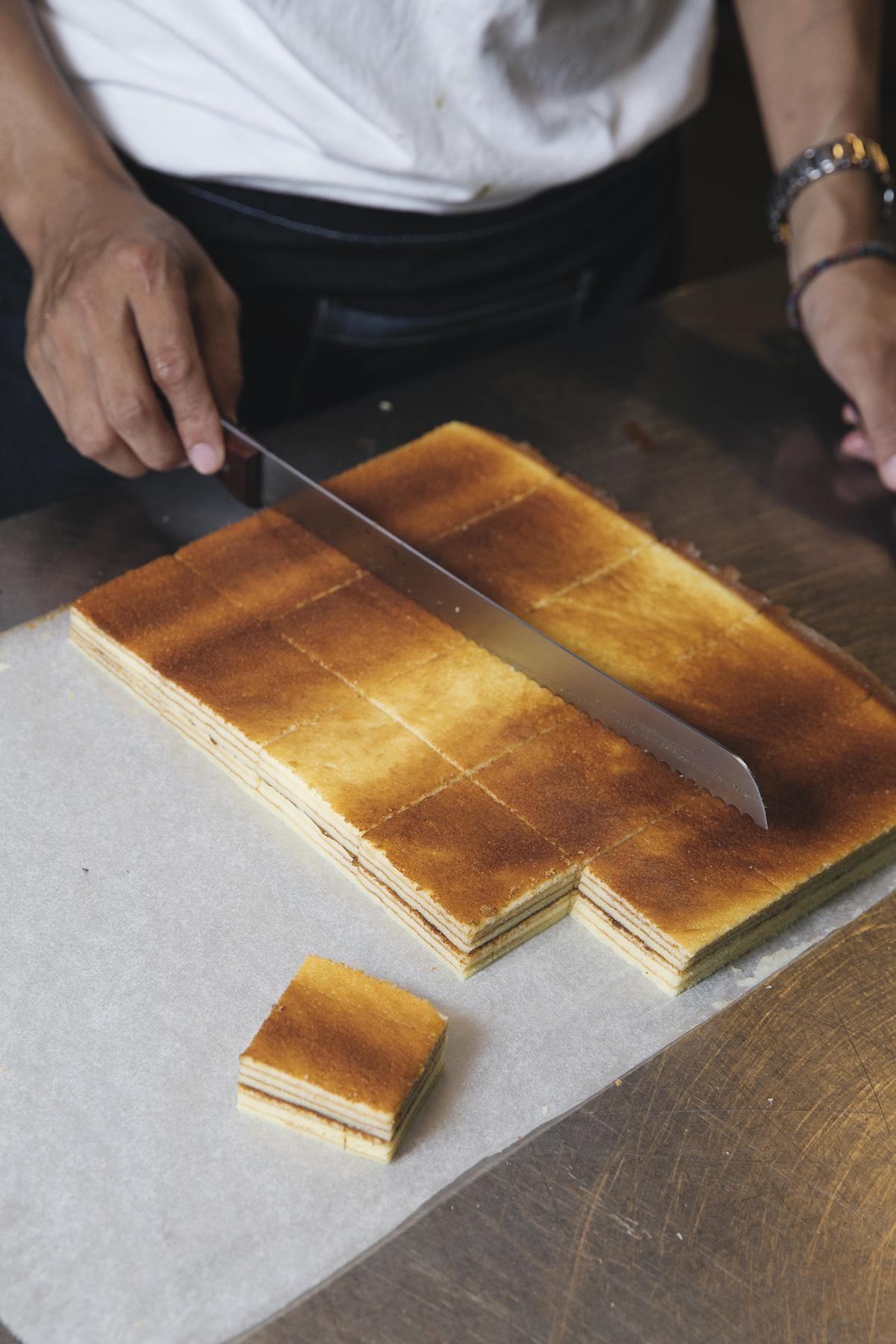 梅子千層蛋糕 吃到自製梅子醬和蛋糕酸酸甜甜的超解膩搭配   甘樂食堂下午茶   古厝裡的美味時光