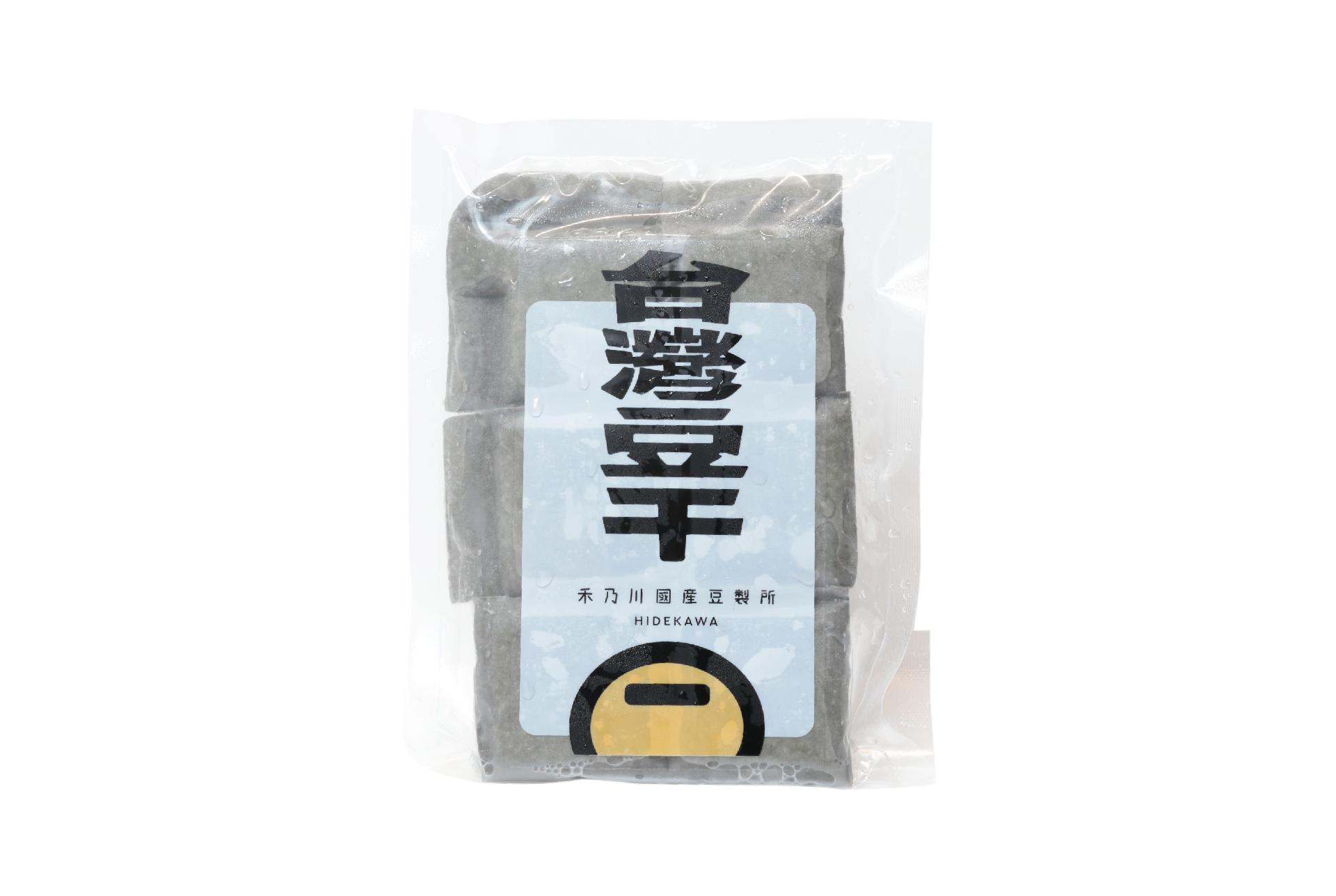鹽鹵黑豆干 - 扎實中帶有韌性 | 禾乃川國產豆製所 | 改變生命的豆漿店