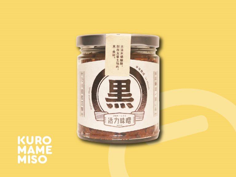 禾乃川黑味噌 - 有機紅米黑米醞釀