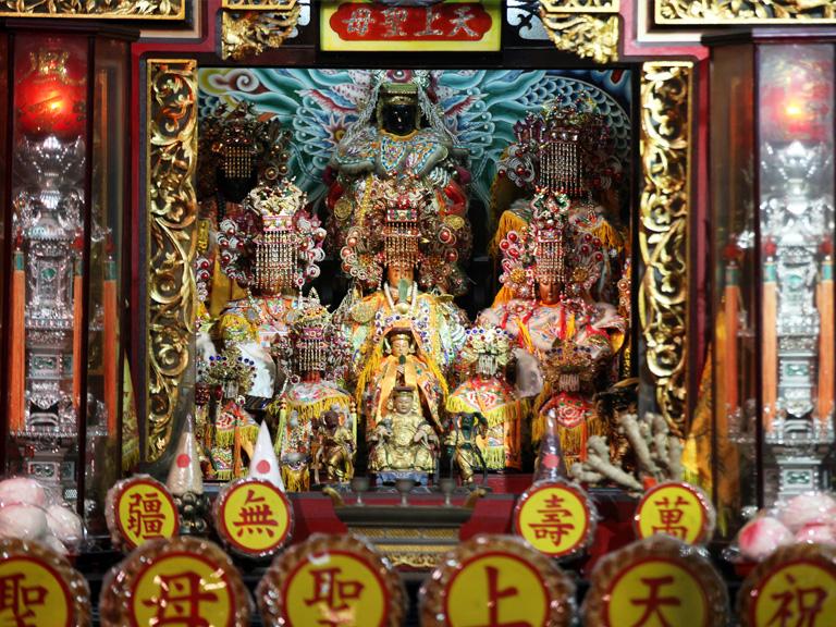 三峽興隆宮 早年由泉州先民自湄洲島奉請來台的天上聖母聖像   甘樂文創   甘之如飴,樂在其中