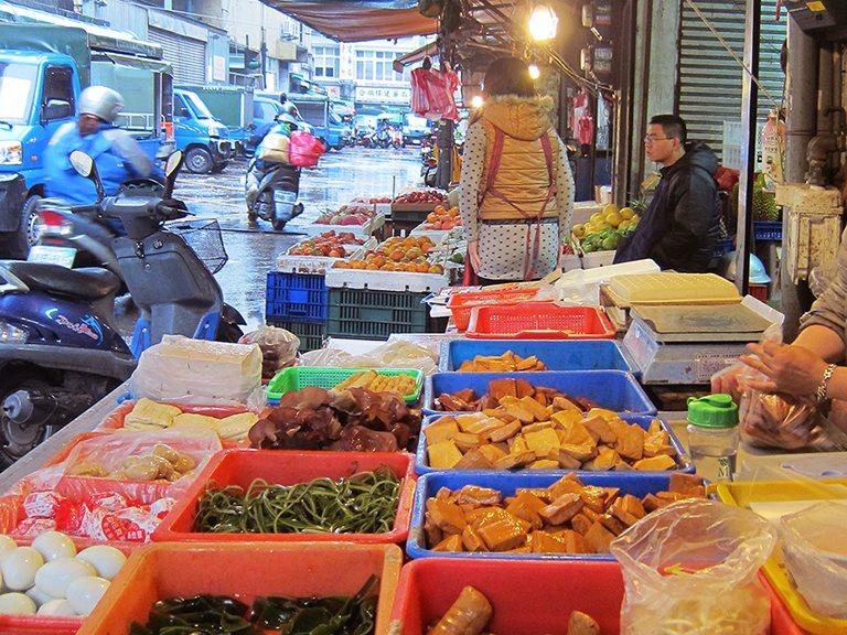 早安,台灣傳統早市