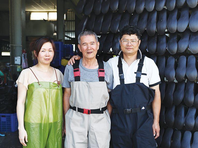 「憨做阿憨做」一輩子只要能做好這件事,就功德圓滿了。 — 台興塑膠工廠