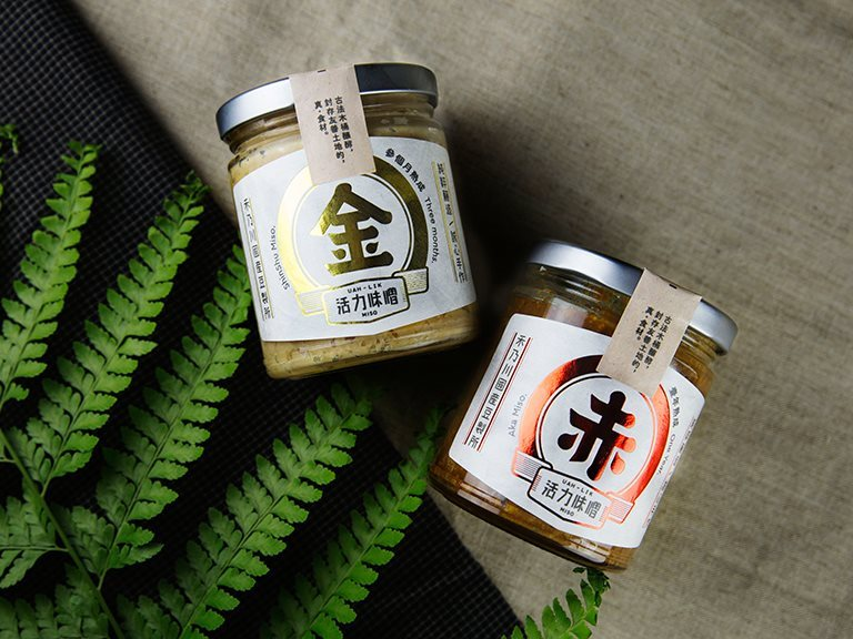 UAH-LIK Miso - Taiwan handmade natural Miso sauce with non-GMO soybeans