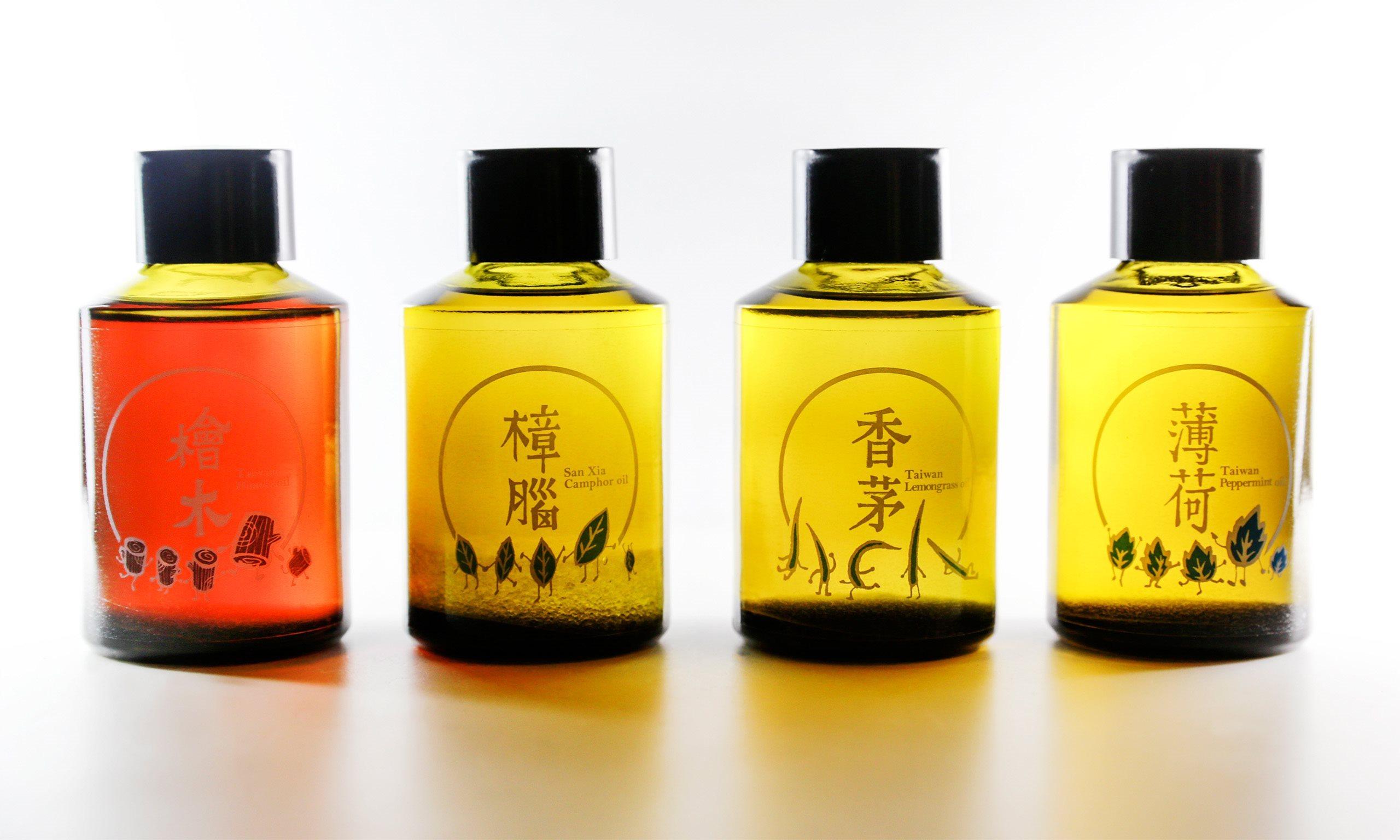 Essential Oil of Taiwan - Taiwan packaging design