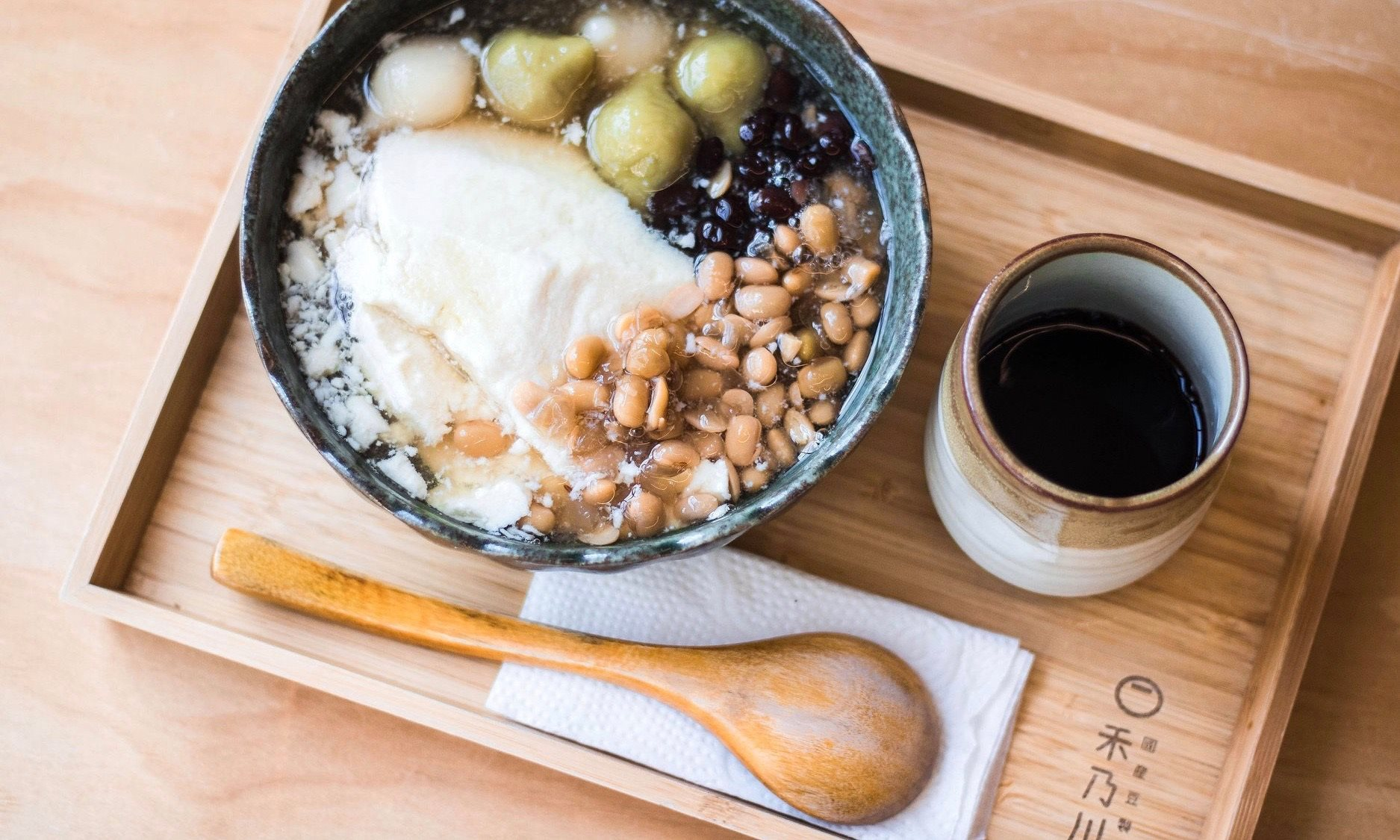 HIDEKAWA Domestic Soybeans Products - Taipei best soy milk shop
