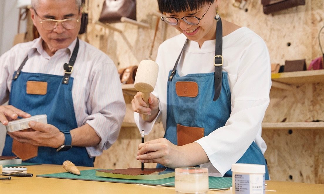 Leather Crafting DIY -The Best Culture Experience In Taipei