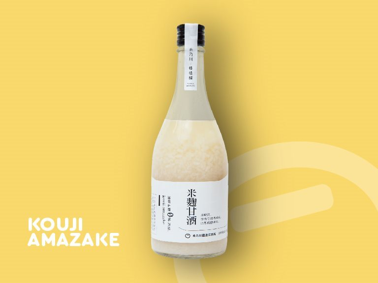 Koji Amazake - the natural fermented alcohol-free rice liquor in Taiwan