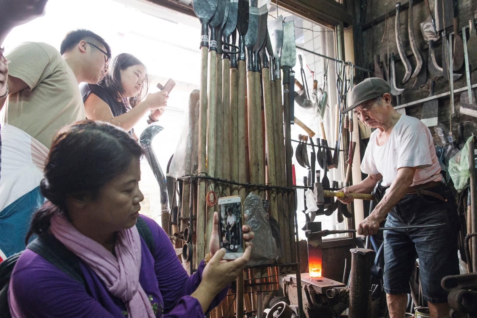 一日職人DIY體驗 - 三峽打鐵職人   甘樂文創   甘之如飴,樂在其中