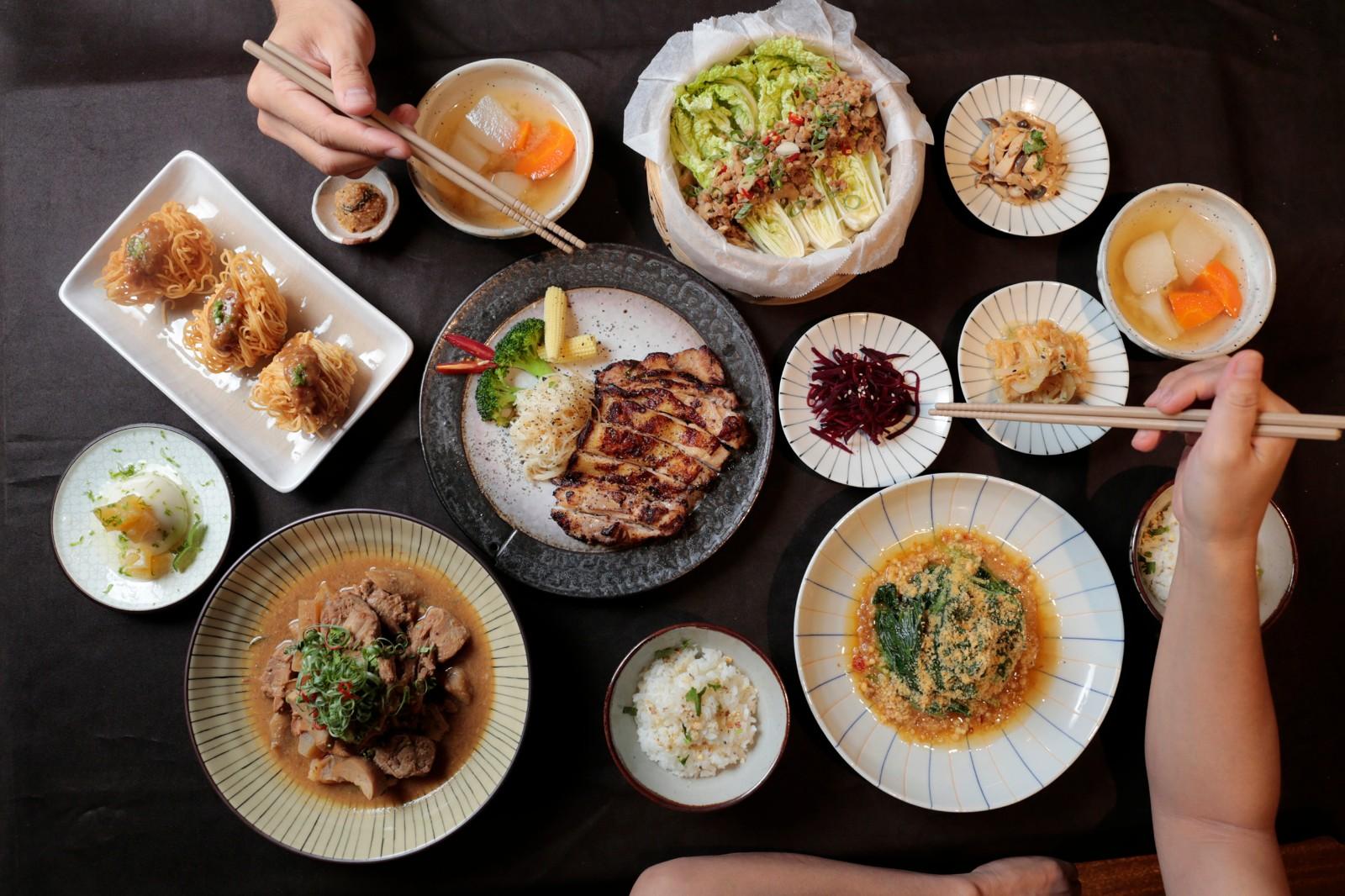 三峽老街甘樂食堂 - 大地創意料理   甘樂食堂   古厝裡的美味時光