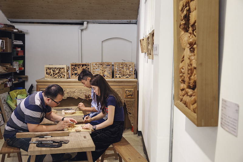 DIY Wood Carving Experience   Taipei Cultural experience   CAN Culture