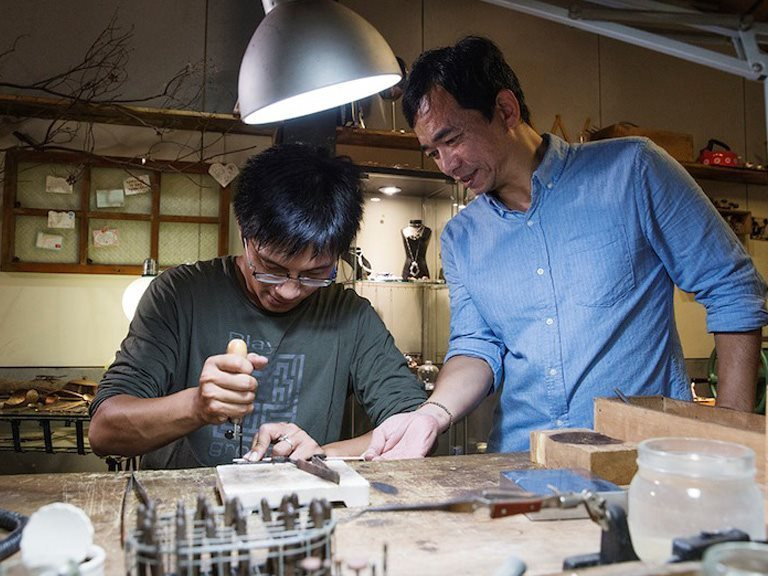 Sanyi Metalworking  - Taipei Culture DIY Experience one-day tour