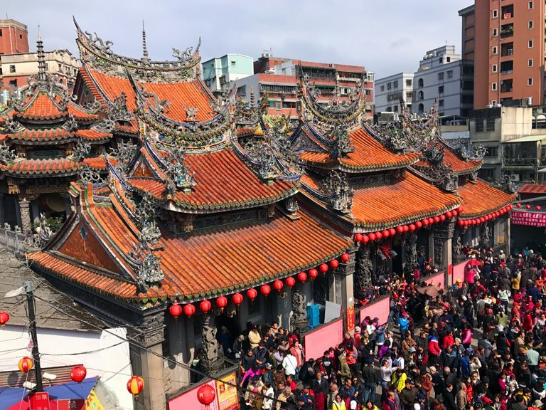 Sanxia Changfu Yan Qingshui Zushi Temple - one of the oldest Zushi temples in Taiwan