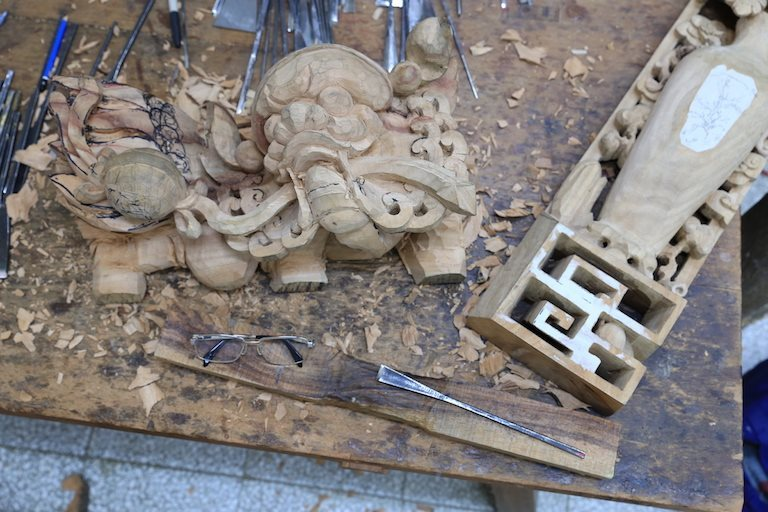 Home of Artistic Carving - the best traditional carving culture in Taiwan, Taipei