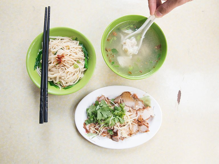 Han-A-Lai Check-r Noodles - the delicious noodles shop in Taipei, Sanxia
