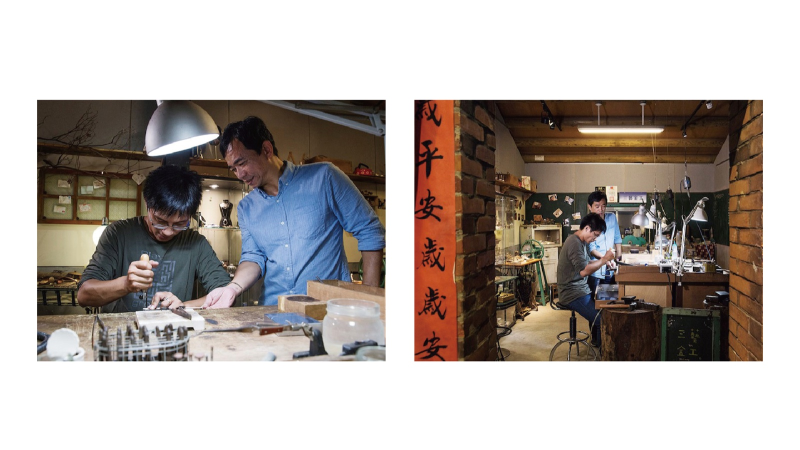 """Fate has brought CAN Culture, Art & Nature and Master Wen together. Through space, product and experience design, Sanyi Metalworking combines traditional solid techniques and designs. It combines craft, handicraft and creativity to make the shokunin brand of """"Sanyi Metalworking"""".    Taipei Cultural experience   CAN Culture"""