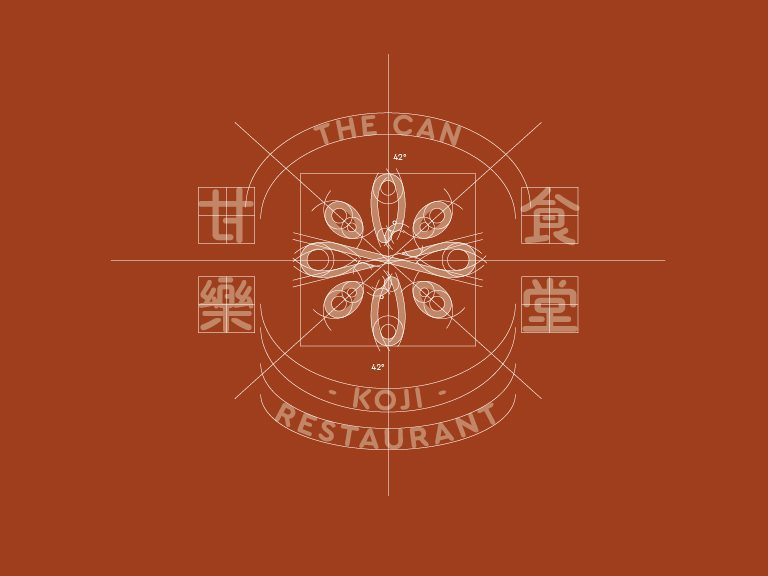 Corporate Identity System of KOUJI Restaurant - Taiwan brand design