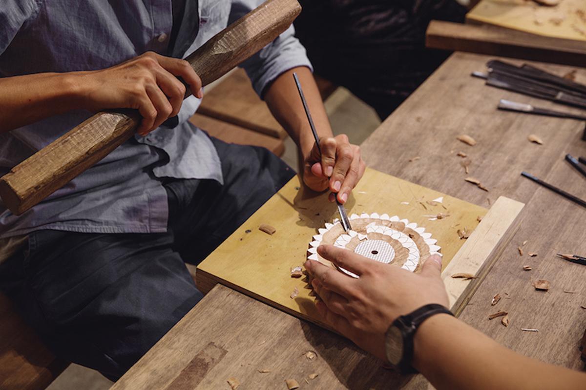吃完好吃的豆製品後,可以點支碧螺春豆漿霜淇淋到戶外的空間走走,這裡非常適合家人以及親朋好友,體驗一場工藝手作木工與金工DIY體驗小旅行!   合習聚落   三峽工藝&產業的共好實踐基地