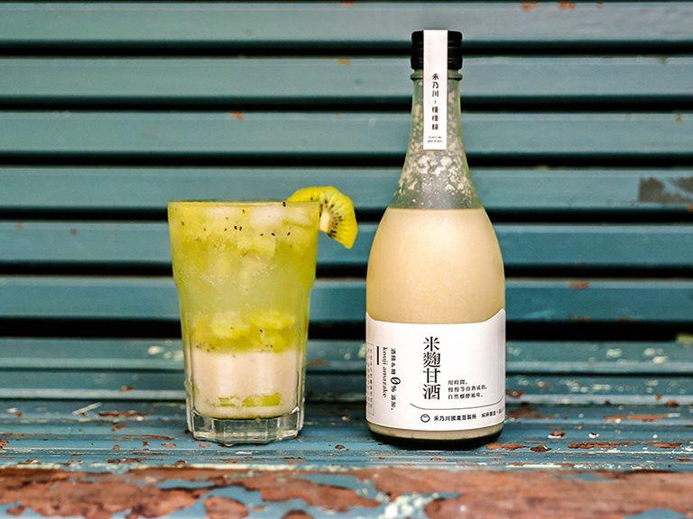 水果系列甘酒汽泡水,健康養生的自製飲品 | 禾乃川小廚房