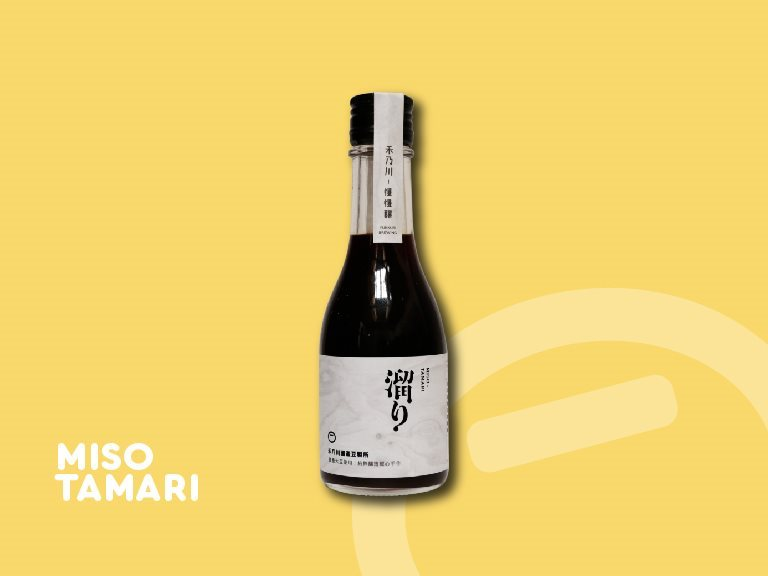 Hidekawa Miso Tamari - Taiwan handmade miso sauce is good taste facilitator for home-cooked