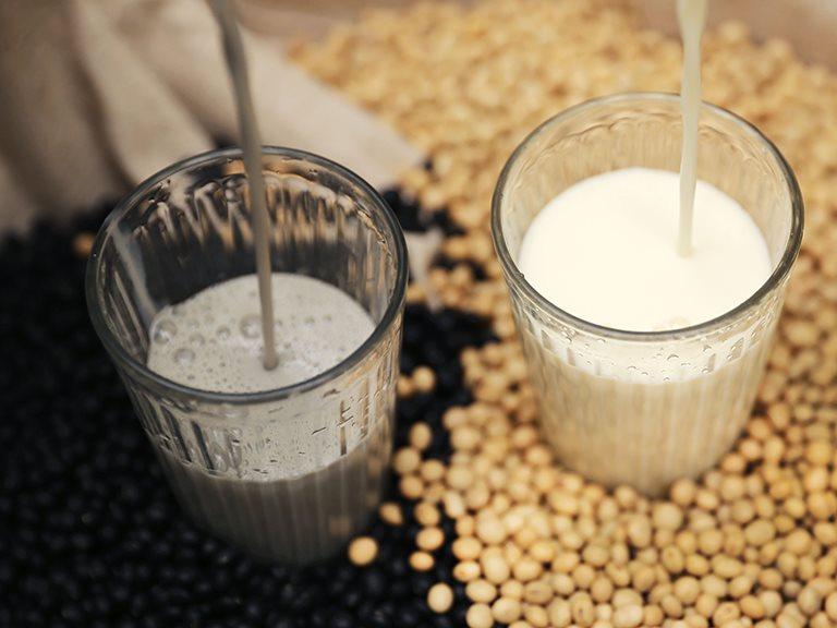 黑豆漿和黃豆漿的營養價值比一比,你知道黑豆漿含有花青素嗎?