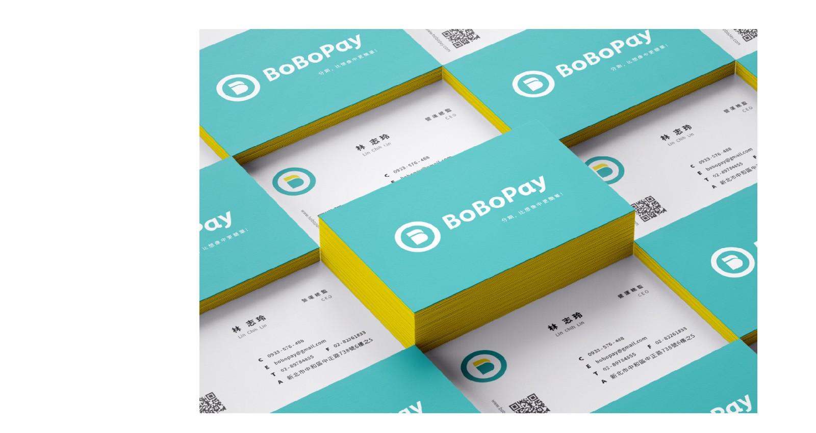 bobopay品牌企業識別系統-BoBoPay 分期,比想像中更簡單!     以『分期』為核心,將品牌字首的B圖像化,由一個單元分裂成兩個單元,直覺式的傳達分期概念。整體識別上以年輕、現代、生活為主要元素。標準字採用斜體,整體線條更為纖瘦活潑,強調服務的快速與輕盈。 | 甘樂文創 | 甘之如飴,樂在其中
