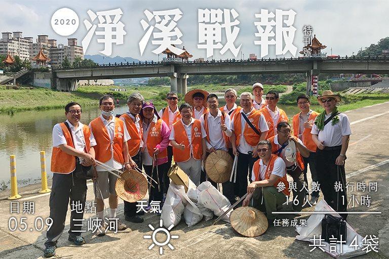 2020/05/09 新北市工業會企業經營聯誼會 淨溪活動