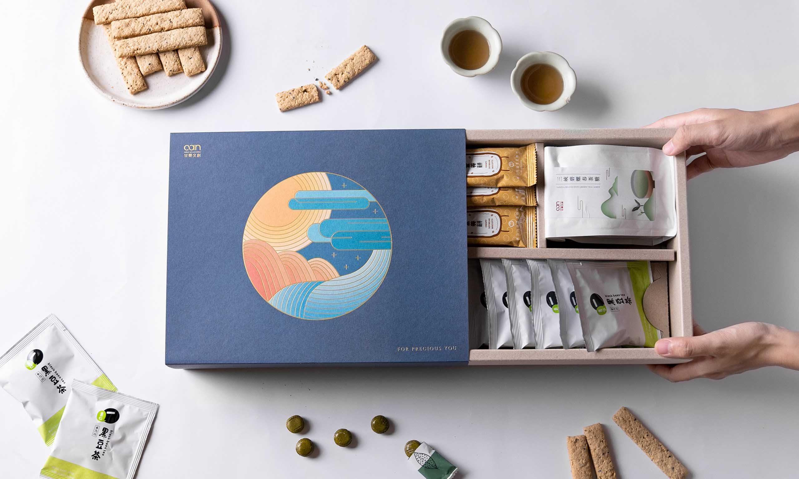 《 圓滿 》 健康茶點禮盒