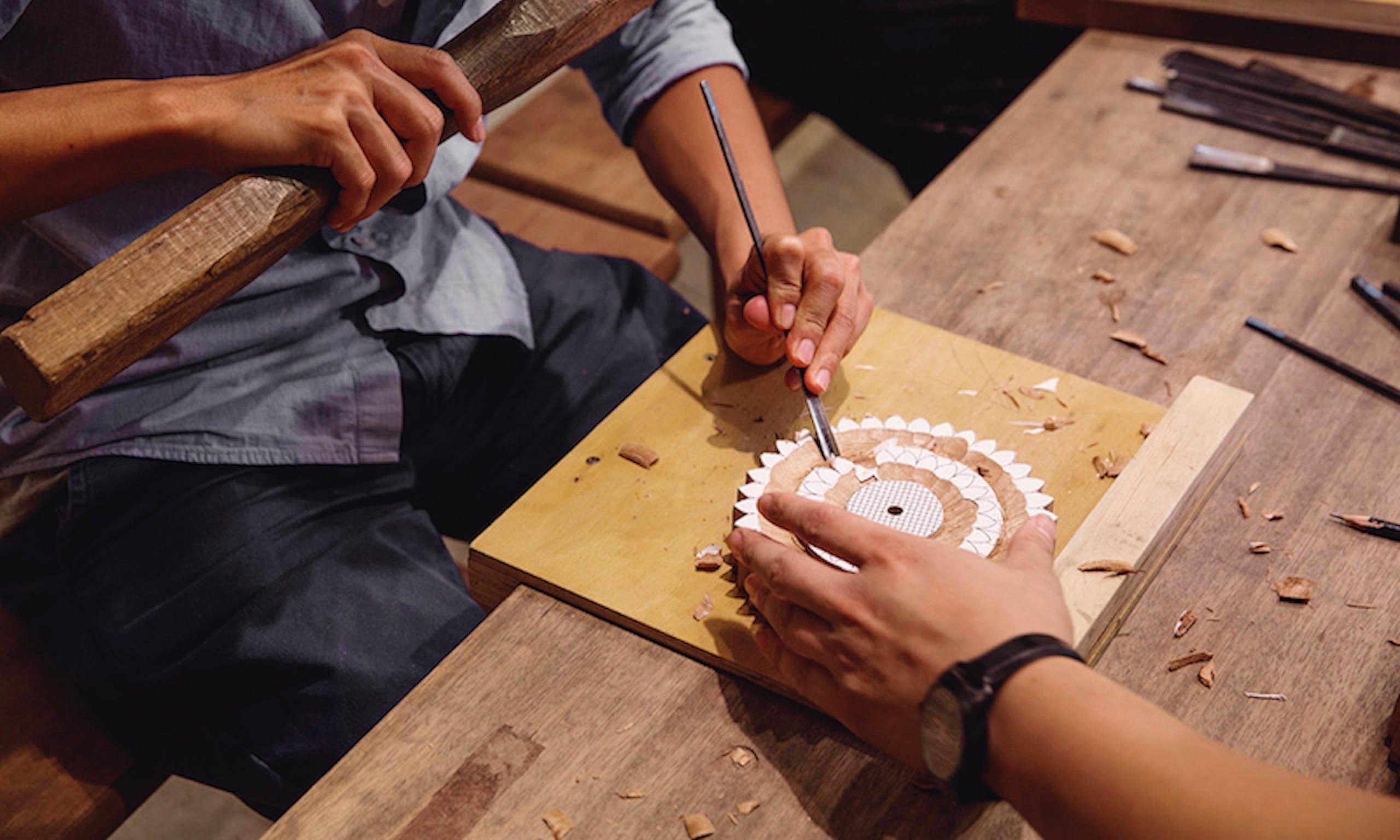 以木雕刻工坊   一日職人木雕體驗DIY