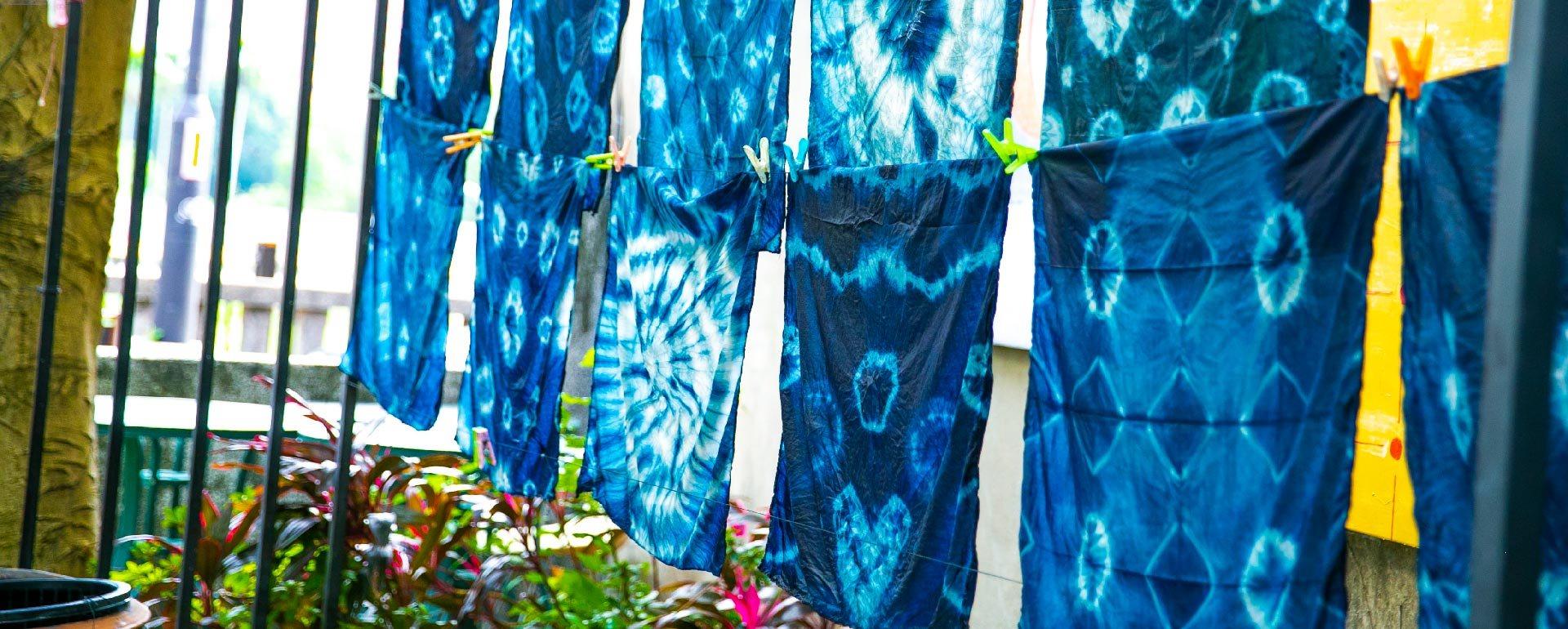 藍染體驗DIY