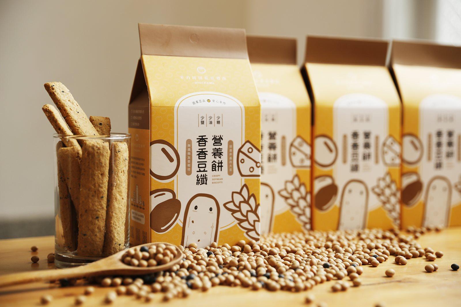 熱銷豆渣餅乾推薦,禾乃川香香豆纖營養餅營養滿分