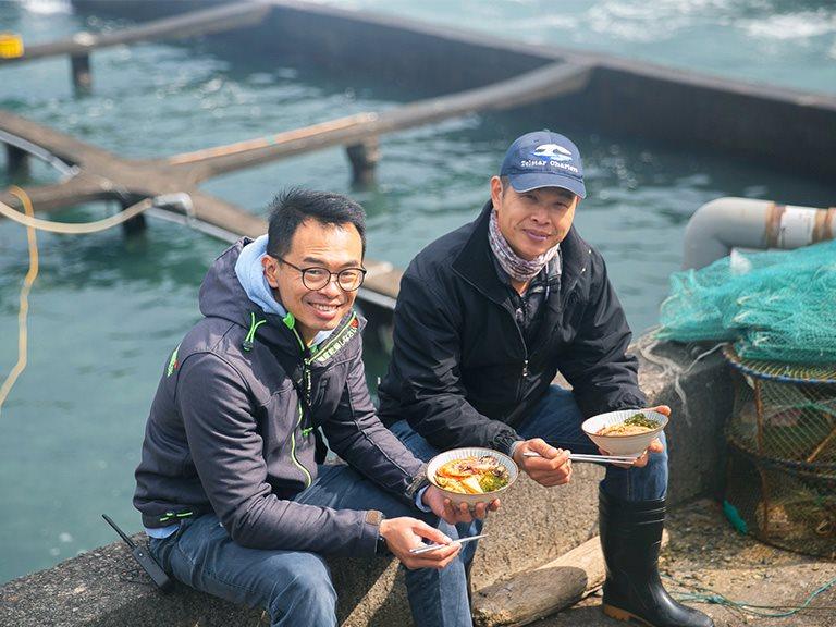 【新北】東北角的新鮮海味,用友善海洋的天然養殖振興家鄉夕陽產業 | 鮮物本舖