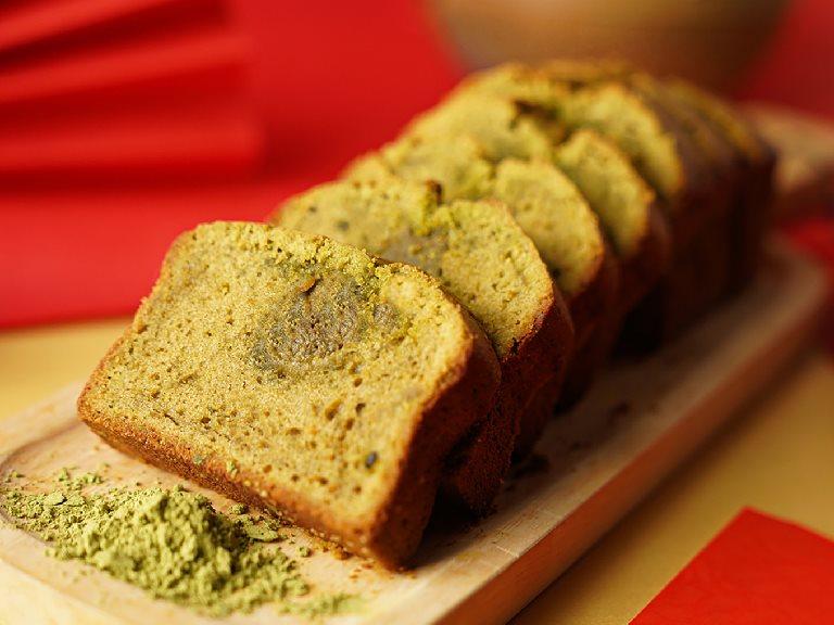 三峽碧螺春抹綠磅蛋糕