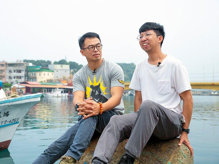 【基隆】讓藝術成為閃耀港口的漫漫燈火,串聯在地創造老漁港新價值 | 星濱山藝術共創工作室