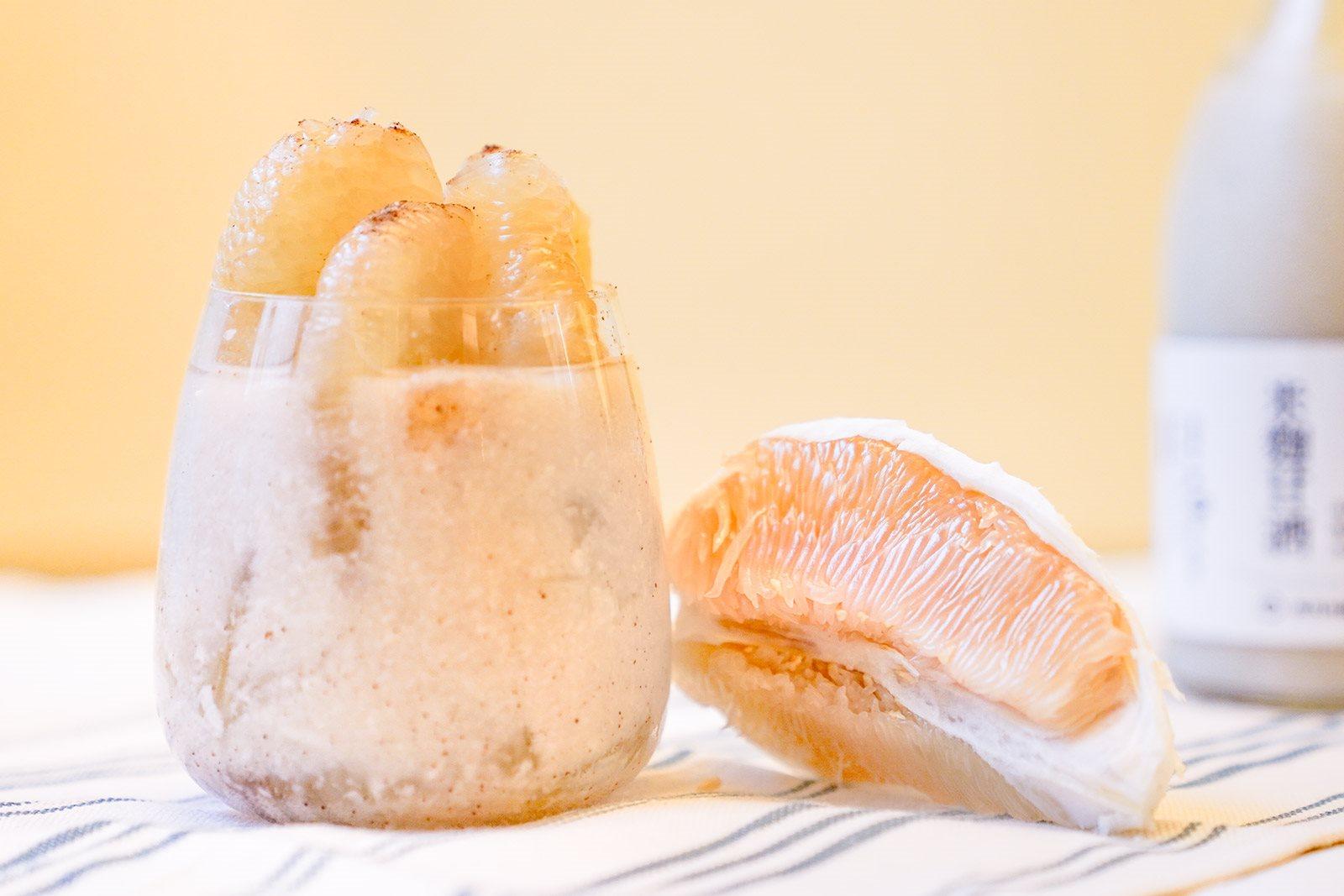 柚見梅好甘酒飲,懷舊時光中的鹹甜滋味|禾乃川小廚房