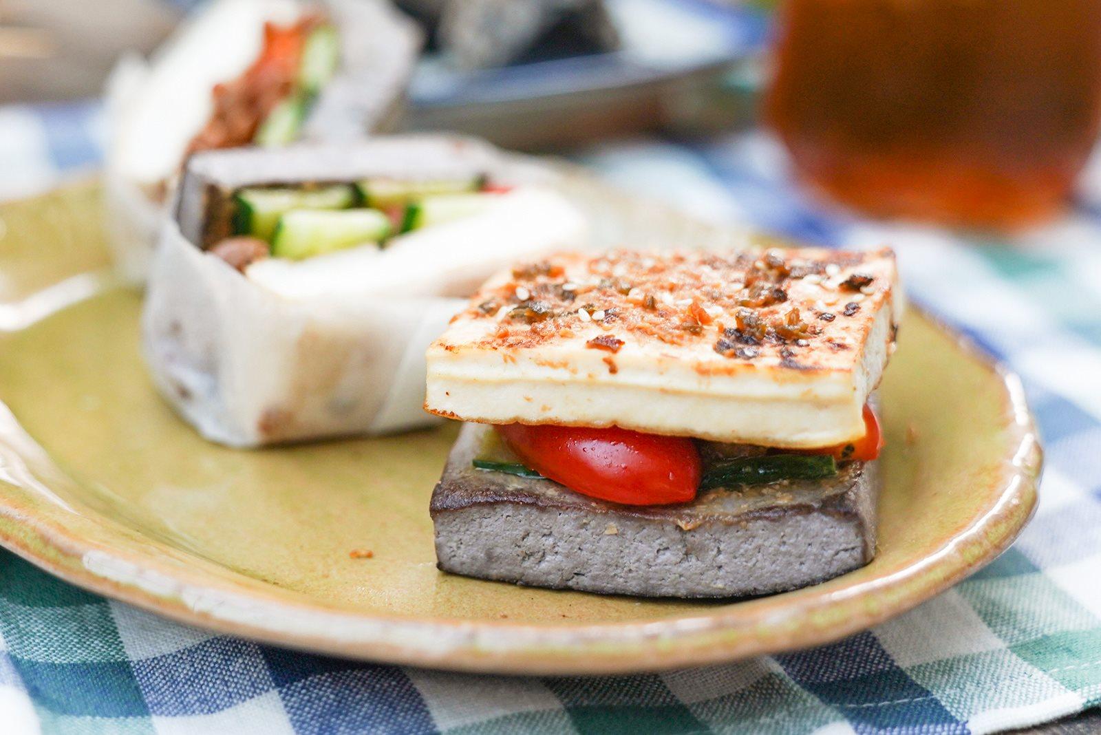 中秋烤肉的人氣開胃小點,辛味噌烤豆腐蔬果三明治|禾乃川小廚房